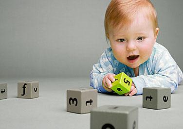 宝宝1个月亲子游戏